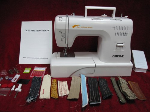 Nouvelle Page 40 Extraordinary Omega Stitch Art Sewing Machine